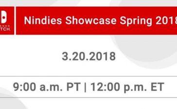 Nintendo Nindies Showcase