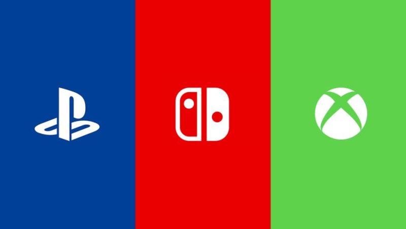 Playstation Xbox Switch - Nintendo Sony Microsoft