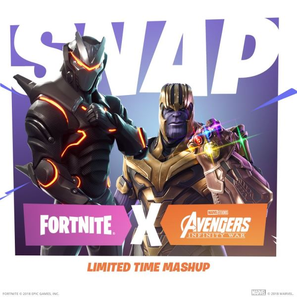 Avengers: Infinity War Crossover With Fortnite