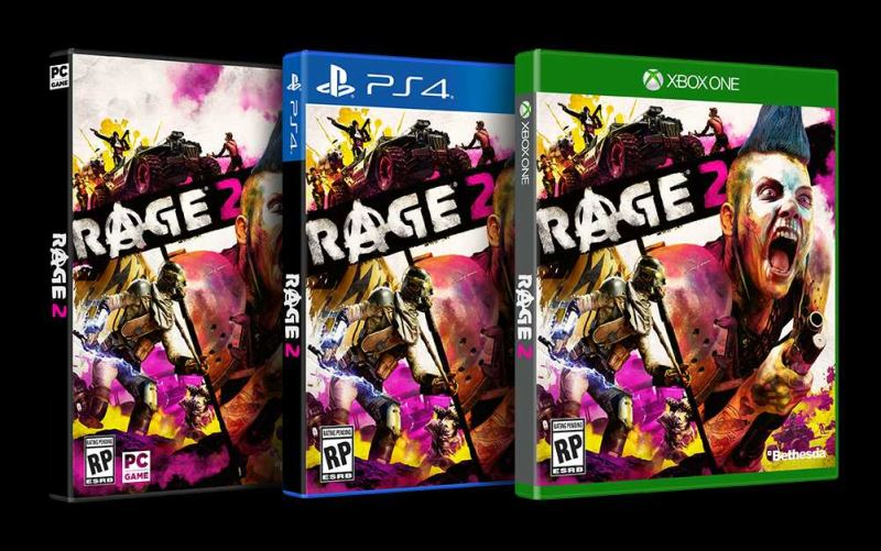 Rage 2 Boxart