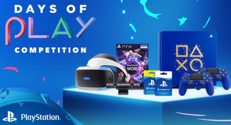 Sony Announces Days of Play 2018