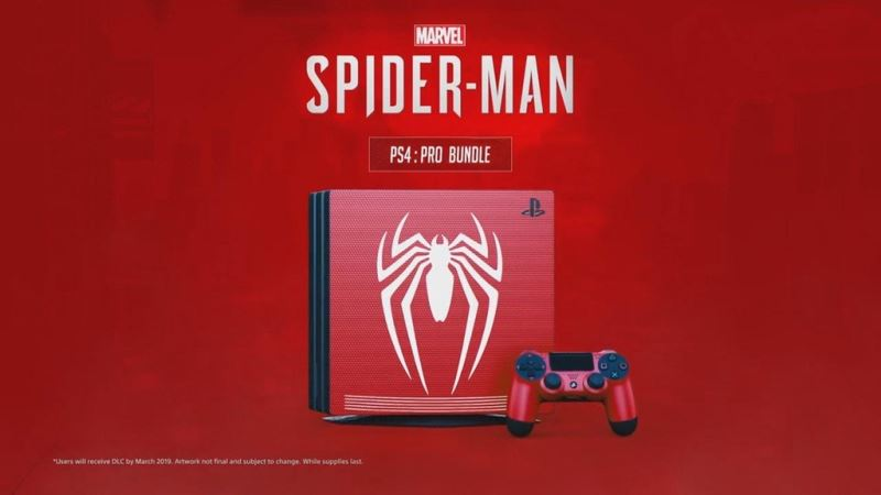Spider-Man PS4 Pro Bundle
