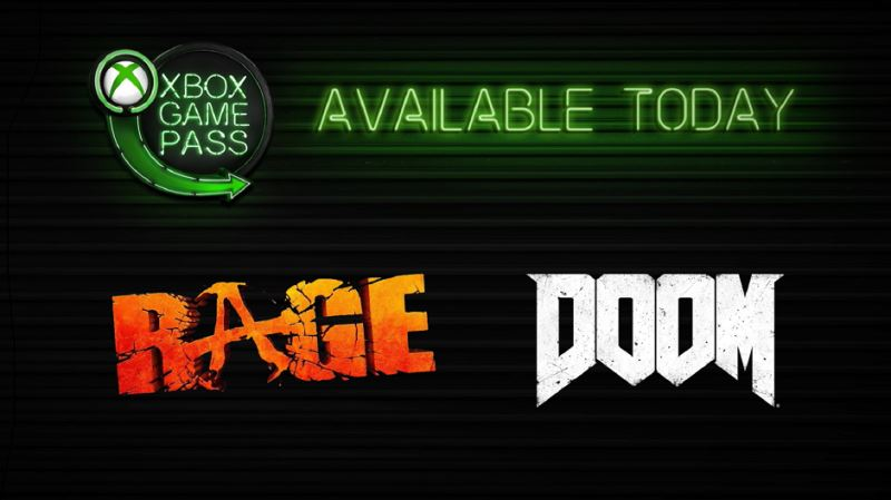 DOOM RAGE Xbox Game Pass