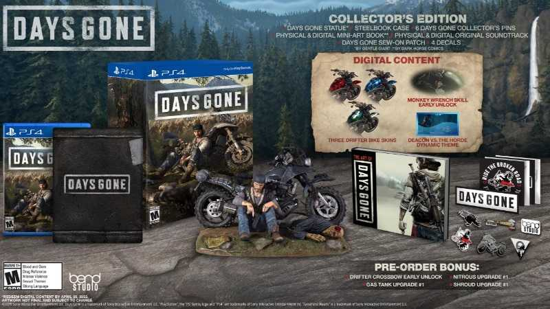 Days Gone Collector's Edition