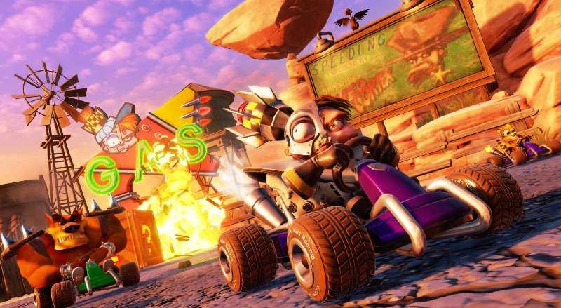 Crash Team Racing: Nitro-Fueled Patch adds free content and leaderboards
