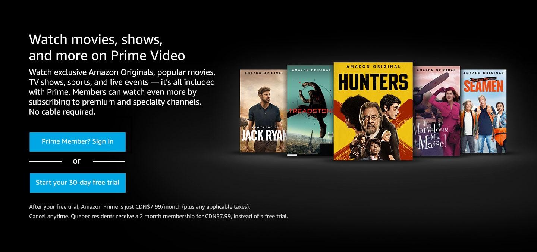 Amazon Prime Video April 2021